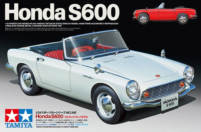 1:24 Honda S600 | TAM24340 | Tamiya