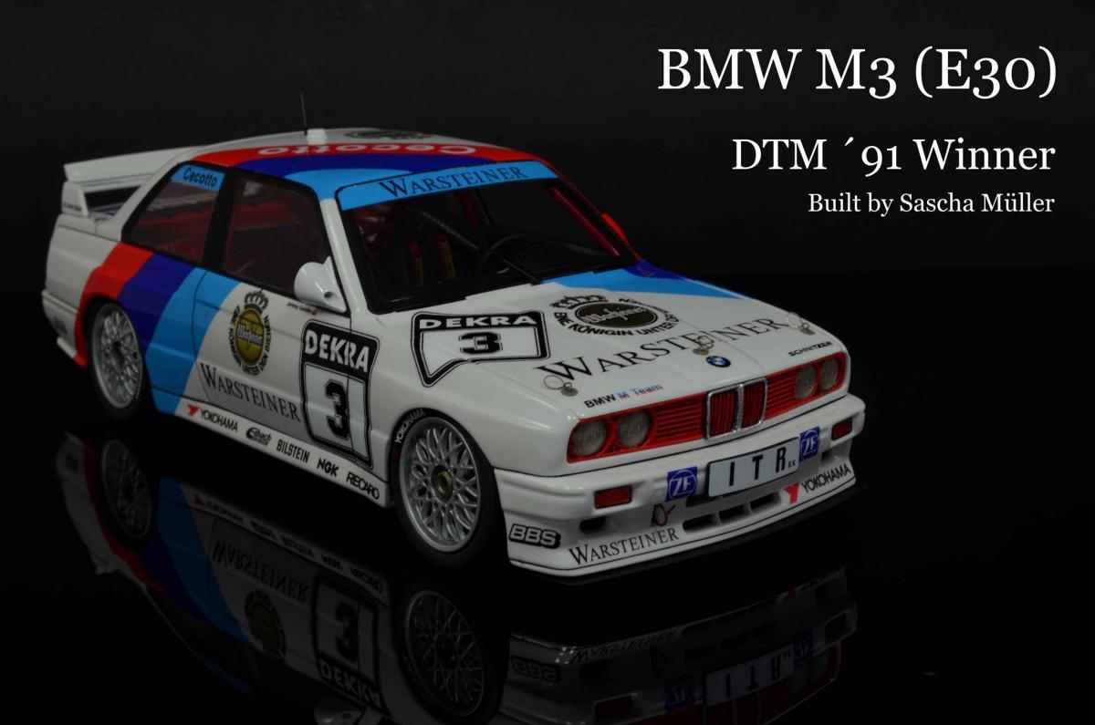 1 24 Bmw M3 E30 91 Deutschland Champion Beeb24007