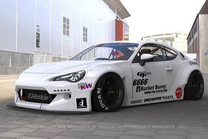 1 24 toyota gt86 scion frs rocket bunny ver 2 transkit. Black Bedroom Furniture Sets. Home Design Ideas