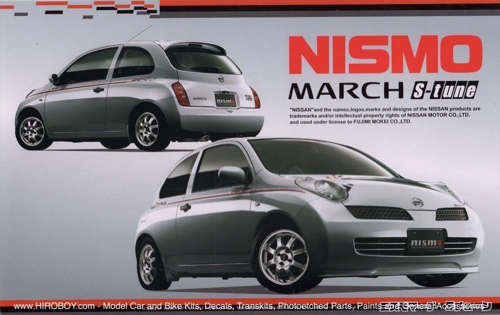 1 24 nissan march micra nismo s tune version fuj 18889 fujimi. Black Bedroom Furniture Sets. Home Design Ideas