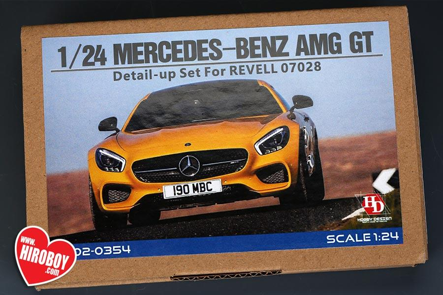 New Ford Torino >> 1:24 Mercedes AMG GT Detail Parts for Revell | HD02-0354 | Hobby Design