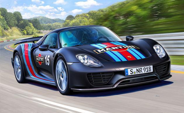 124 Porsche 918 Spyder Weissach Sport Martini Racing Design