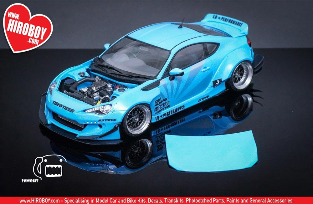 1 24 Rocket Bunny Toyota Gt 86 V2 Canard With Decal F81