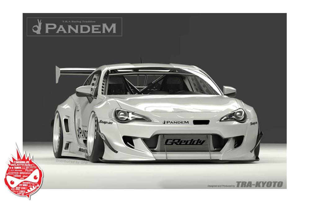 1 24 Rocket Bunny Gt86 V3 Wide Body Kit For Tamiya Gt86 Fr