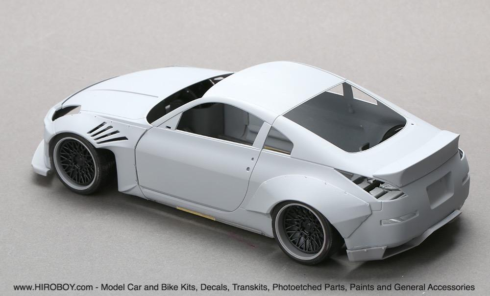 1 24 Rocket Bunny Nissan 350z Wide Body Kit Resin Pe Hd03 0460 Hd03 0460 Hobby Design
