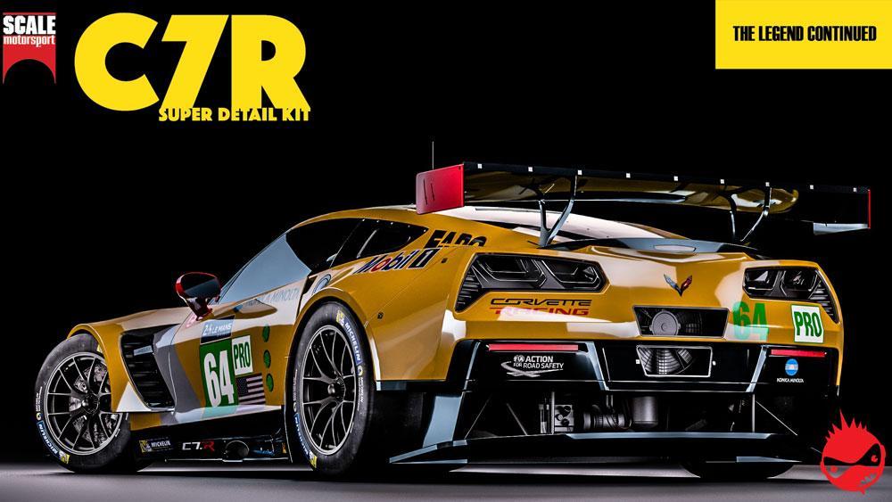 1:25 Corvette C7R Super Detail Kit | SKU2050 | Scale ...