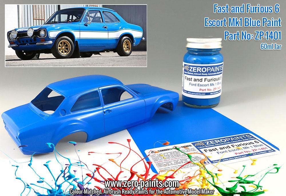 Model Car Paint Kit