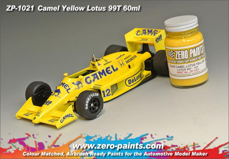 Team Camel Lotus Yellow 99t 100t Paint 60ml Zp 1021 Zero Paints
