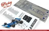 1:12 Tyrrell 003 Monaco Photoetched Detail Set #8090 (Tamiya)