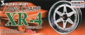 "1:24 16"" Longchamp XR-4 Wheel and Tyre Set"
