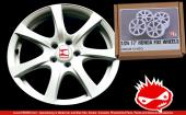 "1:24 17"" Honda FD2 Resin Wheels"