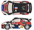 1:24 Citroen DS3 WRC #1 Rally du Condroz 2013 S.Loeb Decals (Heller)