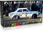 1:24 Ford Escort RS1600 MK1 Roger Clark Winner Daily Mirror RAC Rally 1972  (Belkits)