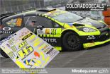 1:24 Ford Fiesta RS WRC Rossi Monza 2013 Decals