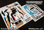 1:24 Ford Fiesta RS WRC #15 Ostberg - Rally Sweden 2012 Decals