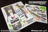 1:24 Ford Fiesta RS WRC - #43 Ken Block - Deutschland Rally 2011 Decals