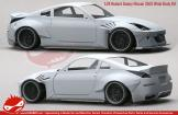 1:24 Rocket Bunny Nissan 350Z Wide Body Kit (Resin+PE) (HD03-0460)
