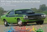 1970's Dodge Challenger R/T Green Go Paint 60ml