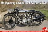 1:9 Montgomery British Anzani Motorcycle - Full Detail Multi Media Kit