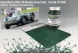 Aston Martin DBR3S LM Metallic Green Paint 60ml