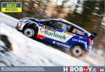 Ford Fiesta WRC - Rally Sweden 2012 - Solowow / Baran (for Belkits Ford Fiesta WRC)