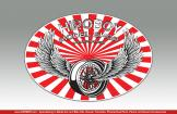 Hiroboy Winged BBS Sticker 100mm