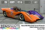 Mclaren M8C William Wonder Can-Am 1971 Paint Set 2x30ml