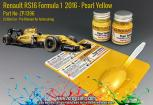 Renault RS16 Formula 1  2016 - Pearl Yellow Set 2x30ml