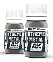 AK Xtreme Metal Paints