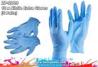 5 Pairs Nitrile Extra Gloves