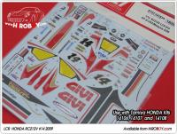 1:12 Honda RC212V LCR 2009 GP of USA/Malaysia Decals