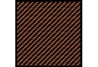 1:20 Carbon Fiber Decal Twill Weave Black/Bronze #1120