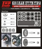 1:20 F1 Brake Set #2 (MP4/13) #TD23032