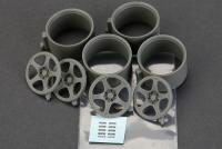 "1:24 18"" Nismo LMGT2 Wheels for Nissan GT-R"