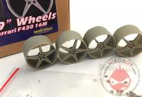 "1:24 19"" Wheels For Ferrari F430 16M"
