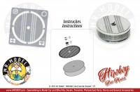 1:24 Air Cleaner/Filters 14x4.5mm + PE style 3