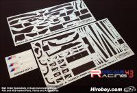 1:24 BMW M3 DTM Carbon Fiber Pattern Decals (Revell)