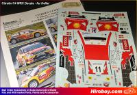 1:24 Citroen DS3 WRC P. Solberg MAD CROC Rally de France (Alsace) 2010 Decals (Heller)