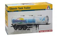 1:24 Classic Tank Trailer (Tanker) - Italeri 3886 Model Kit