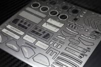 1:24 Dodge Viper SRT10 ACR Photoetched Detail Parts - for Revell