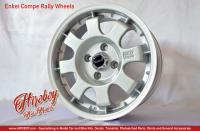 "1:24 Enkei Compe Rally 15"" Wheels with Stance Tyres"