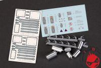 1:24 Fire and Safety Systems (Metal Parts+PE+Decals+Resin)