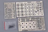 1:24 Lamborghini Aventador LP700-4 Photoetched Detail up Set for Aoshima Photoetched+Resin