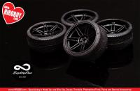 1:24 iForged Equip V3s Wheel and Tyres