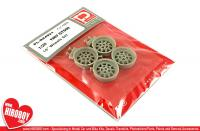 "1:25 15"" Shelby Mustang GT500 1967 Wheels (AMT)"