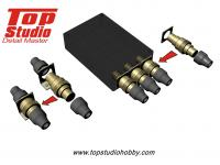 1.25mm Electronic Connectors (Brass Type) 1:20 - 1:24