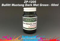 Bullit Mustang - Dark Metallic Green Paint 60ml