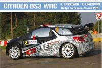 Citroen DS3 WRC Kimi Raikkonen 2011 - For Heller Kit 80757