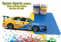Spoon Sports Blue and Yellow Paint Set 2x30ml