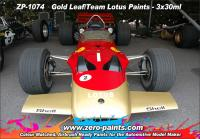 Gold Leaf/Team Lotus 72 and 49B Paint Set 3x30ml